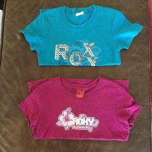Bundle: Roxy shirts